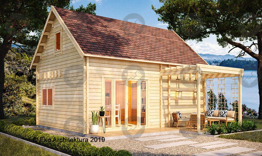 Domki drewniane letniskowe do 35m2
